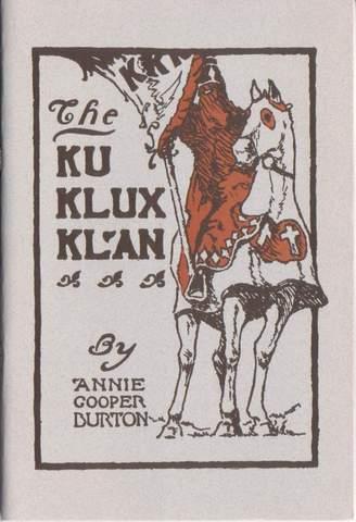 Klu Klux Klan Created