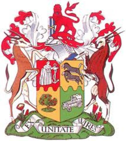 Uinon of South Africa was set