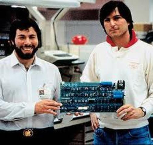 Los dos Steven y la Apple Computer