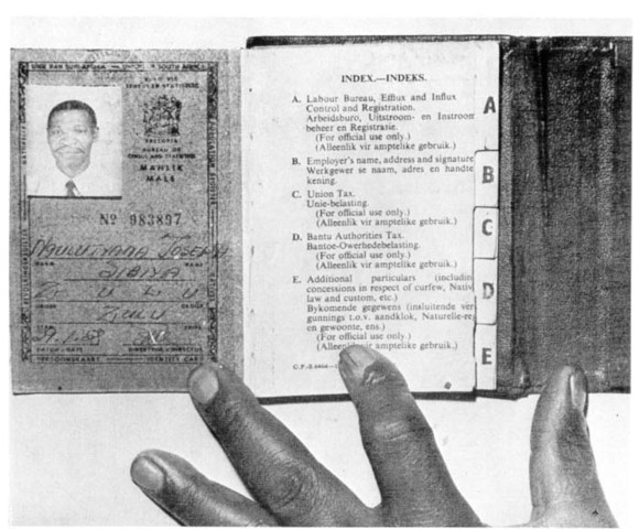 ANC organized a nonviolent demostration against the passbooks