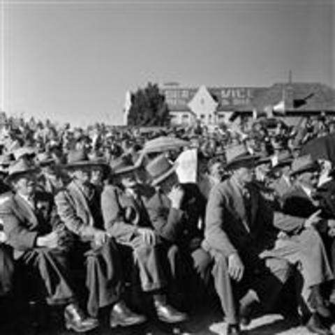 National party got victory in the South African election of 1948