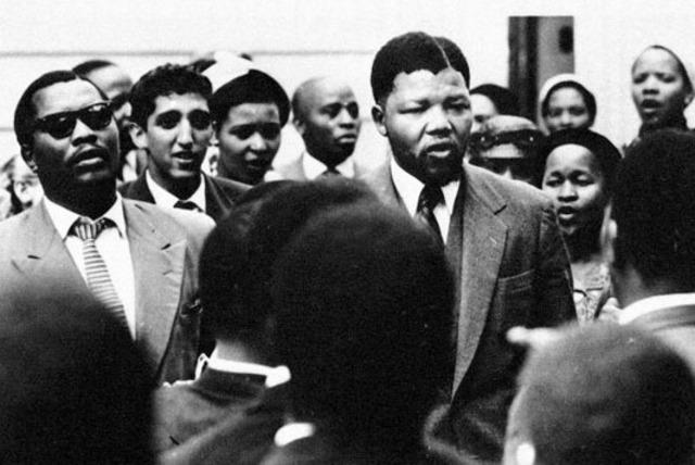Nelson Mandela was arristed