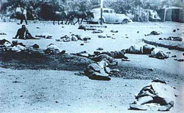 Protest in Sharpeville