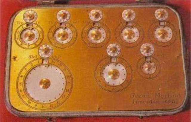 La primera Maquina de multiplicar