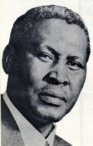 Albert Luthuli accepted the Nobel Peace Prize