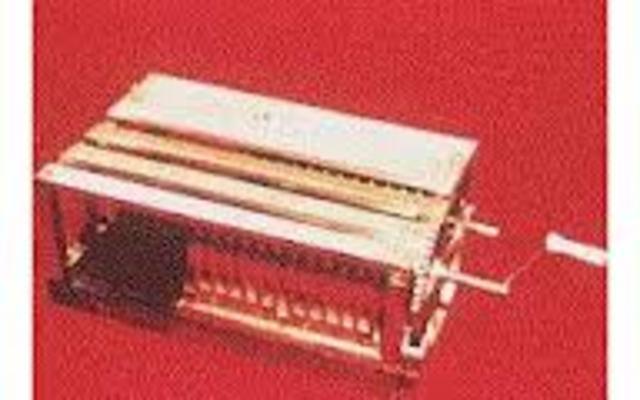 SIGLO XVII  Invencion del Demostrador logico