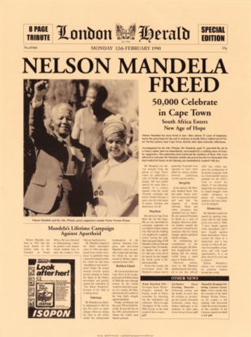 Nelson Mendela was released
