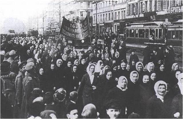 Manifestación de Pan y paz.