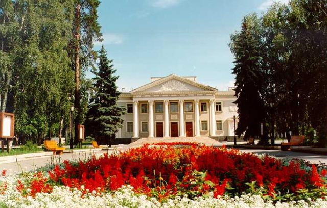Открытие театра драмы и комедии «Наш дом»
