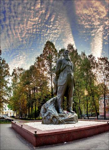 Открытие памятника И.В.Курчатову