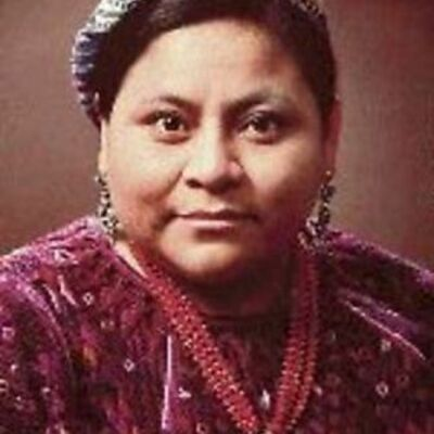 Rigoberta Menchú timeline