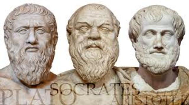Socrates, Plato and Aristotle- 2000 years ago