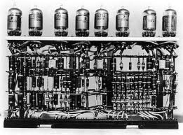 SIGLO XX       invencion del tubo al vacio