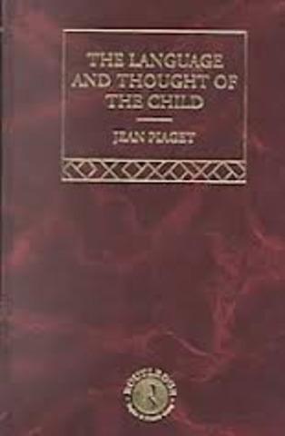 El lenguaje y pensamiento en el niño, Piaget