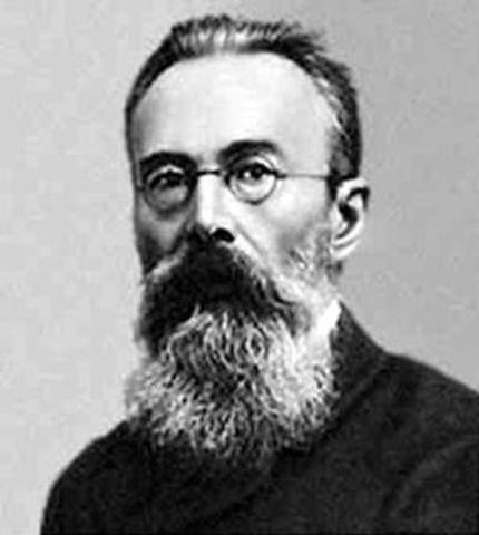 Nace Rimsky Korsakov (Músico) en San Petersburgo