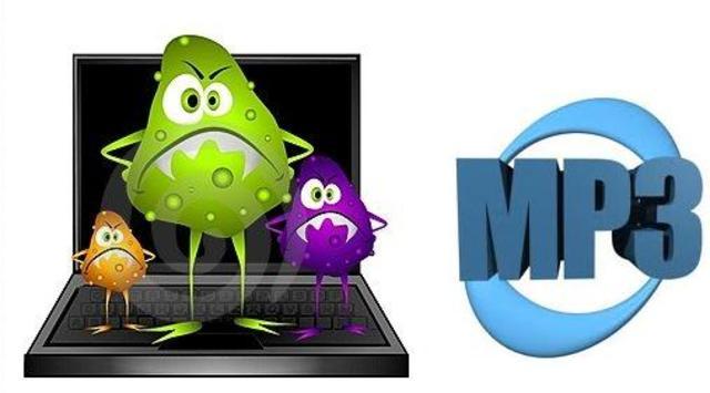 Aparicion del formato MP3 y el Virus