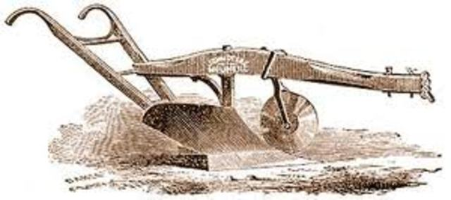 Cast Iron Plow invented by Carles Newbold