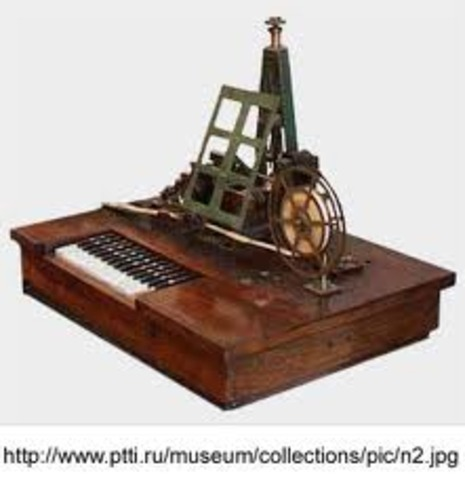 The world's first patented radio is created