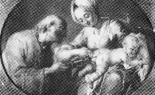 Aplicando un enema regular al bebé