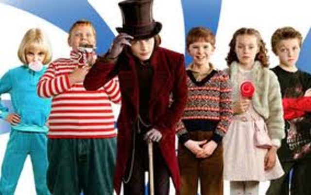 Plays Willy Wonka in Tim Burtan's Charlie and the Chocolate Factory.