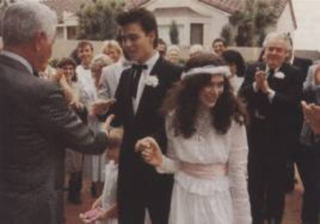 He married