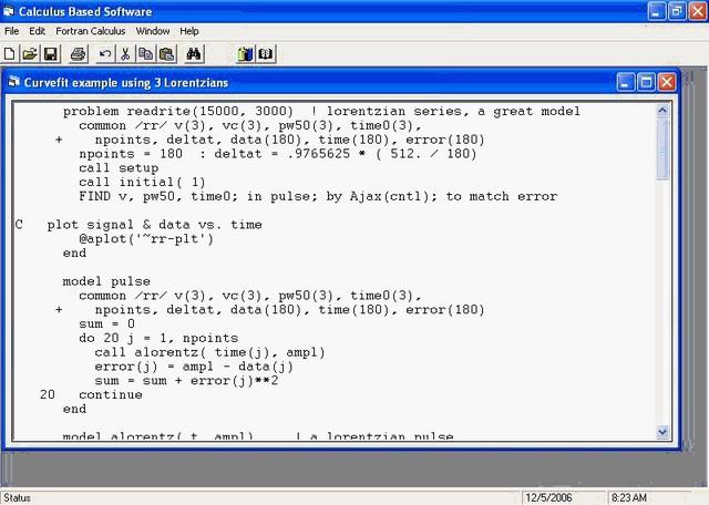 lenguaje de programación FORTRAN