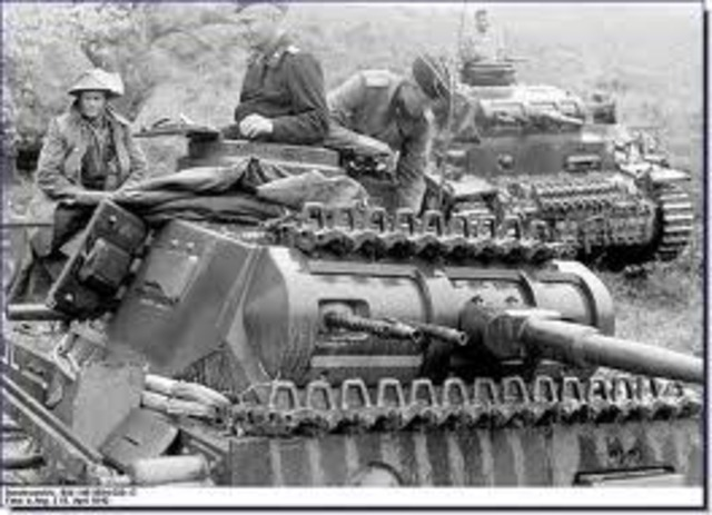 The German army invades Yugoslavia and Greece.