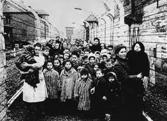 The Soviet army liberates Auschwitz.