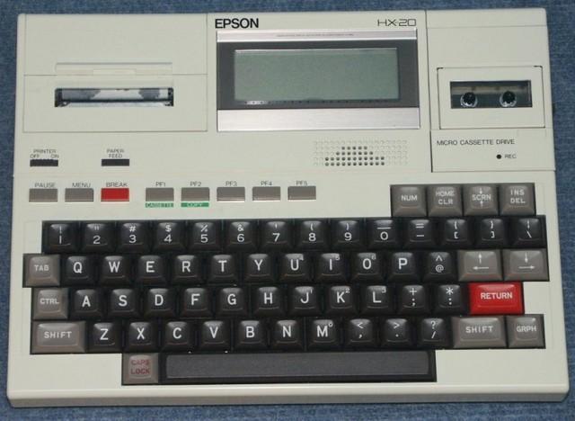 EL HX-20, EL PRIMER COMPUTADOR PORTÁTIL