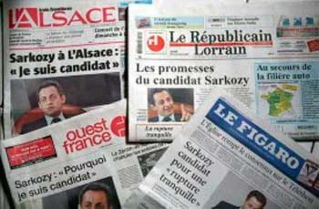 Periódicos en Francia