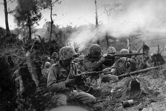 Battle of Okinawa Begins