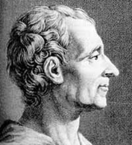 Baron Montesquieu (1689-1755)