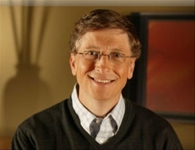 Bill Gates was born