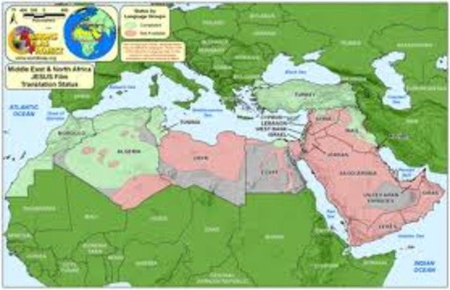 Crossing to North Africa