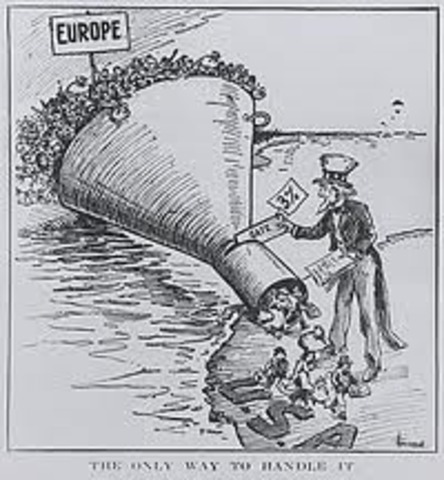 Immigration Act/Anarchist Exclusion Act of 1903