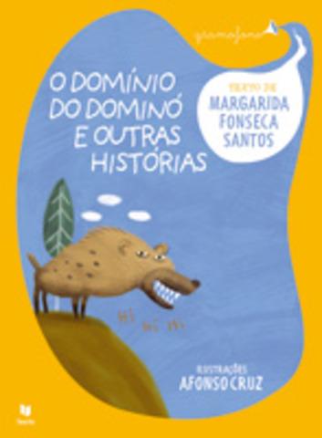 """Publicou """"O domínio do dominó e outras histórias"""" da Coleção Gramofone, com ilustrações de Afonso Cruz"""