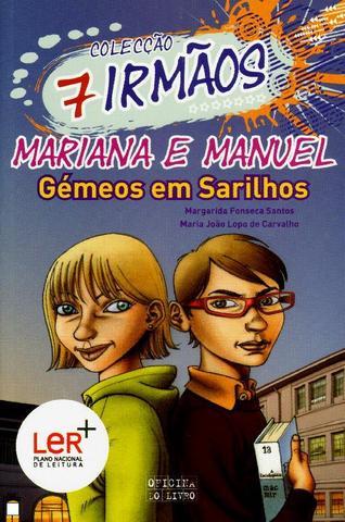 """Publicou """"Mariana e Manuel, Gémeos em Sarilhos"""" – volume 5 da Coleção 7 irmãos, escrito em co-autoria com Maria João Lopo de Carvalho"""