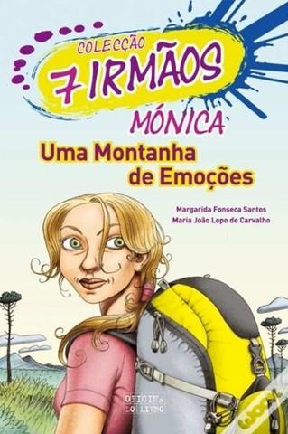 """Publicou """"Mónica - Uma Montanha de Emoções"""" –volume 7 da Coleção 7 irmãos, escrito em co-autoria com Maria João Lopo de Carvalho"""