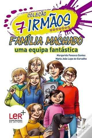 """Publicou """"Família Machado"""" – volume 10 da Coleção 7 irmãos, escrito em co-autoria com Maria João Lopo de Carvalho"""