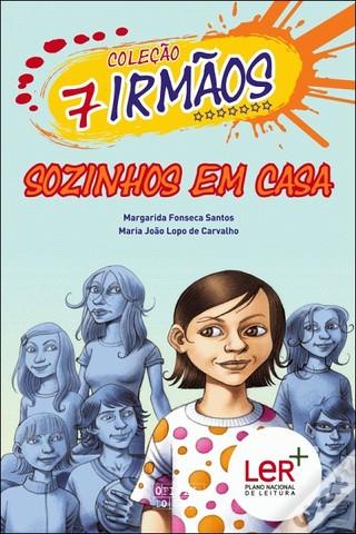 """Publicou """"Os Sete Irmãos: Sozinhos em Casa"""" – volume 12 da Coleção 7 irmãos, escrito em co-autoria com Maria João Lopo de Carvalho"""
