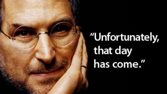 Steve Jobs passes away on October 5, 2011