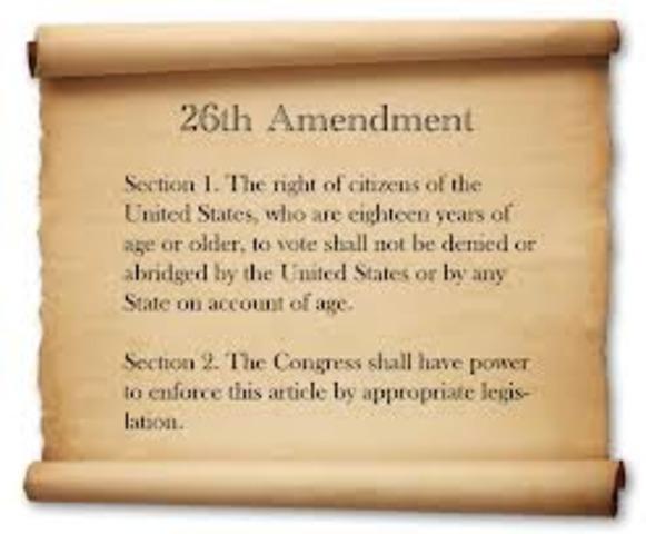 Amendment 26th