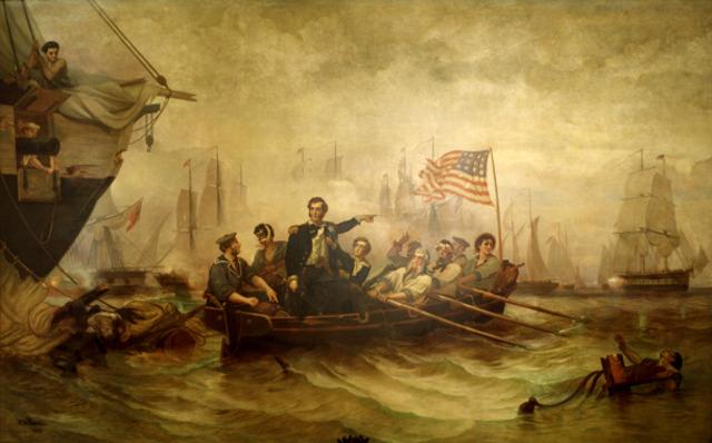 The British Blockade the American Coast