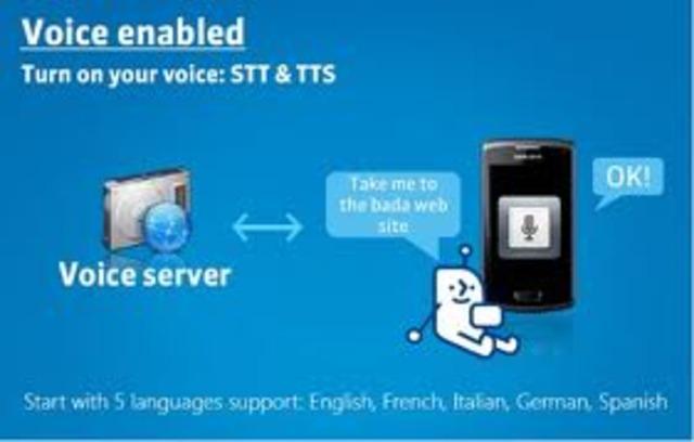 Teléfono reconocimiento de voz