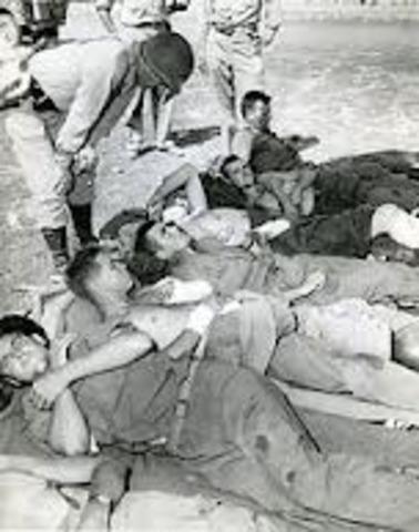 Hitler was shot in the leg in the war