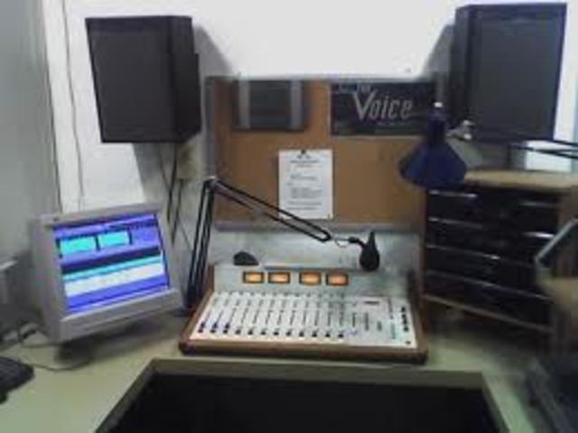 Voice in radio (Marconi)