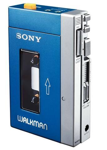 Sony walkman created