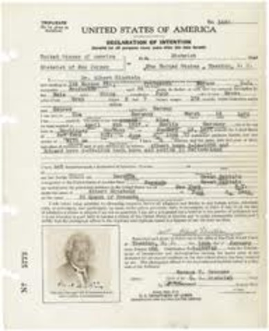 The Naturalization act