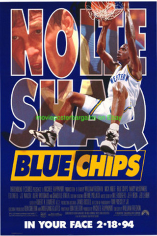 In film Blue Chips staring Nick Nolte
