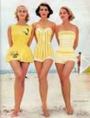 1950 swimwear